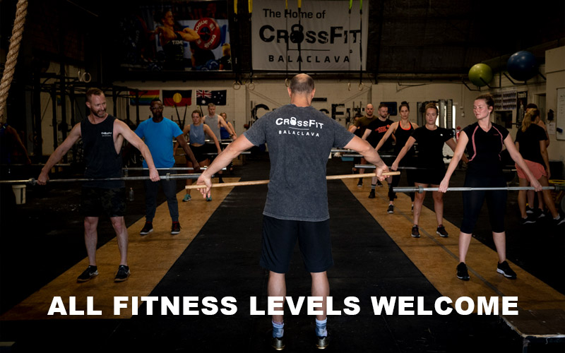All Fitness Levels Welcome